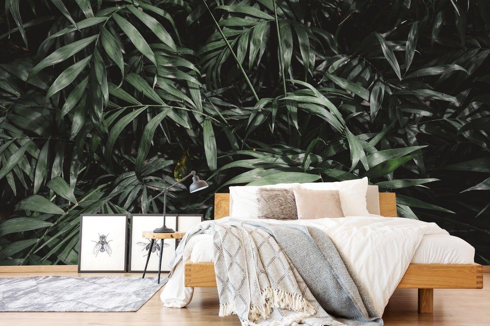 3D green Blätter 774 Tapete Wandgemälde Tapete Tapeten Bild Familie DE Lemon
