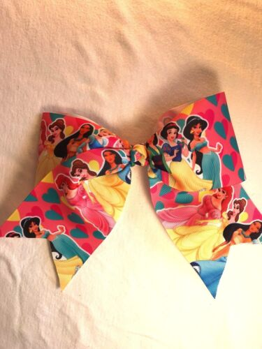 All colors Hair Bows for all ages girls Cartoon Cheerleader Hair Bows