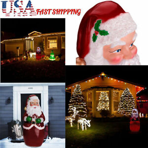 Christmas-Outdoor-Lighted-Inflatable-Santa-Claus-Giant-Yard-Party-Decoration-US