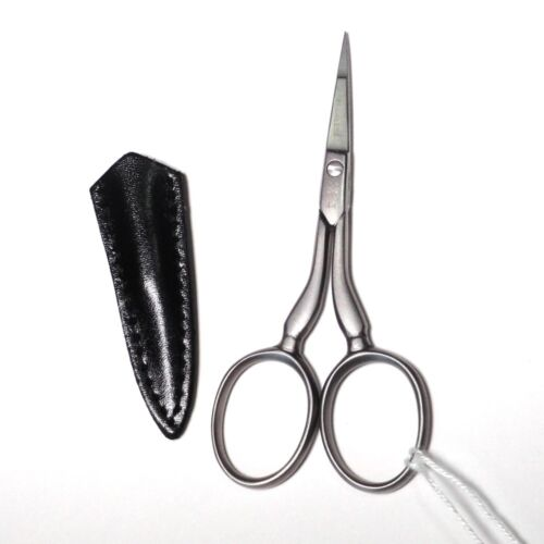 "DOVO /""Hardanger/"" /& Cut Thread Embroidery Scissors w//Sheath"