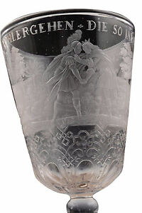 Antique-18th-Century-Highly-Detailed-Engraved-Wine-Stem-Glass-Goblet