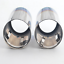 70mm-Blue-Stainless-Steel-Exhaust-Tail-pipe-Trim-Tip-for-VW-Scirocco-Golf-VI-VII thumbnail 3