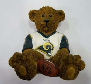 St-Louis-Rams-NFL-Football-Ceramic-Mini-Teddy-Bear-Figurine-by-Elby-Gifts