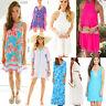 New Lilly Pulitzer Silk Lace Shift Maxi Dress Skirt Caftan