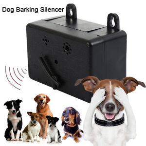 Details about Anti Barking Device Ultrasonic Dog Bark Repeller Sonic  Deterrents Silencer Tool