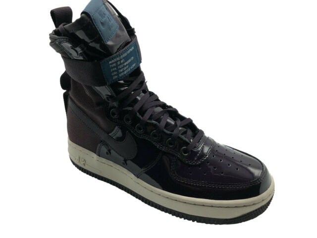 separation shoes 8bc71 03082 Nike W Air Force 1 SF Af1 Special Fields SE Port Wine Sz 7 Womens Aj0963 600