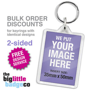 DISCOUNT-PRICES-MULTIPLE-PERSONALISED-ACRYLIC-KEYRINGS-50mm-x-35mm