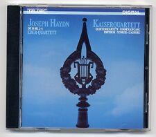 Joseph Haydn CD Streichquartette Op. 76 Nr. 2-4 Eder Quartett 1st press JAPAN