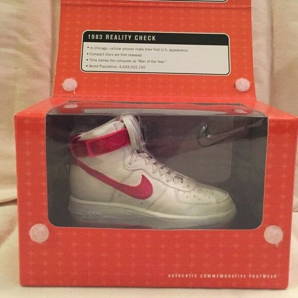 Nike Retro Air Force One 1  Red White Collector's Edition