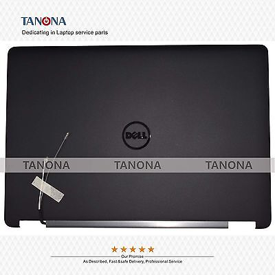 New For Dell Latitude 14 7000 E7470 LCD Back Cover WLAN 3*3 Blk 0HF58X HF58X