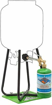 Flame King Refillable 1 lb Empty Propane Cylinder Tank ...