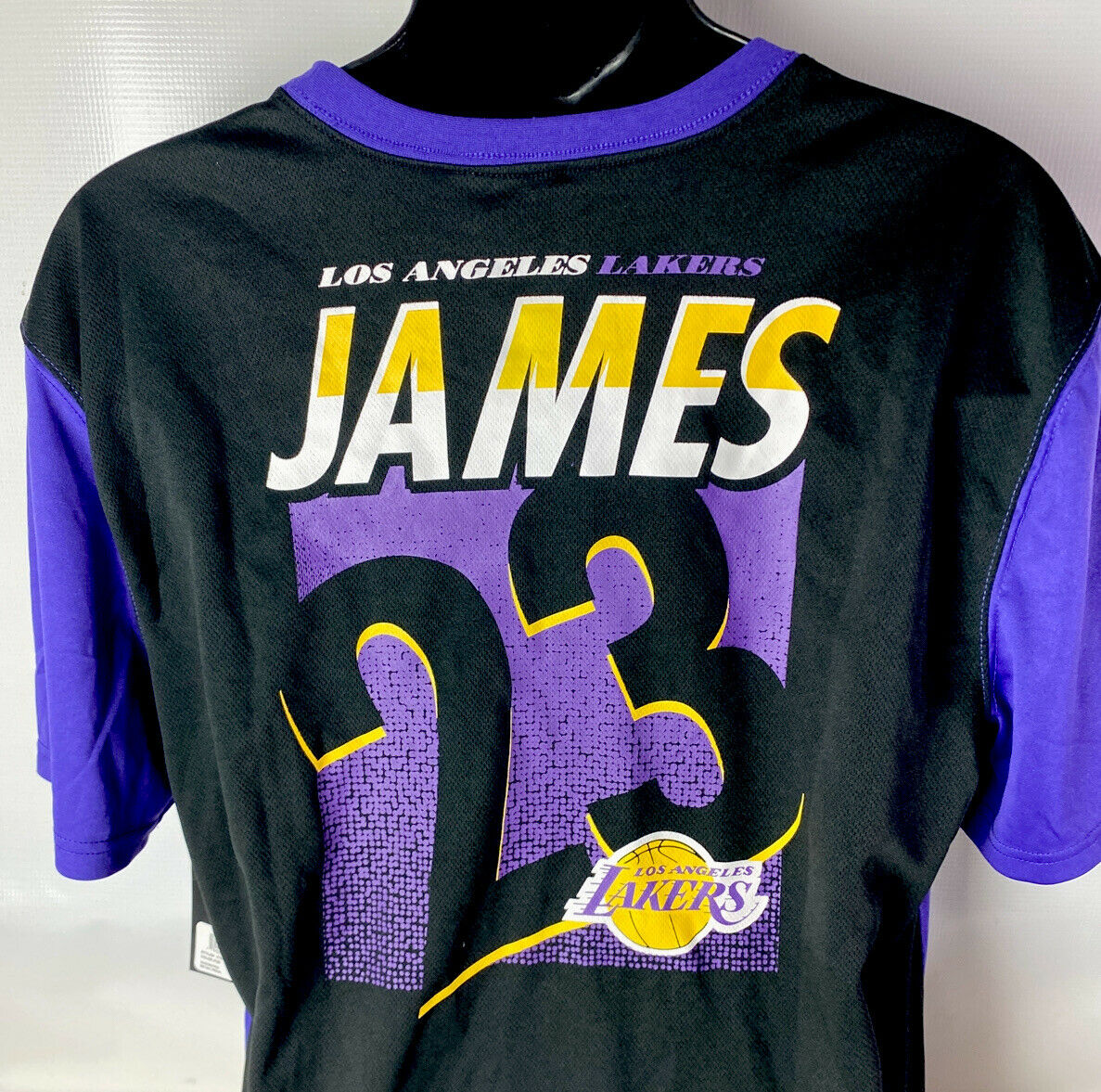 La Lakers NBA Purple Jersey & Black Shorts Outfit Set Lebron ...
