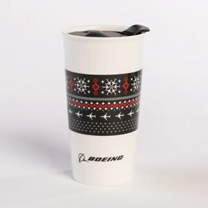 Original-Boeing-Snow-Flake-Keramik-Becher-NEU-OVP-aus-Seattle