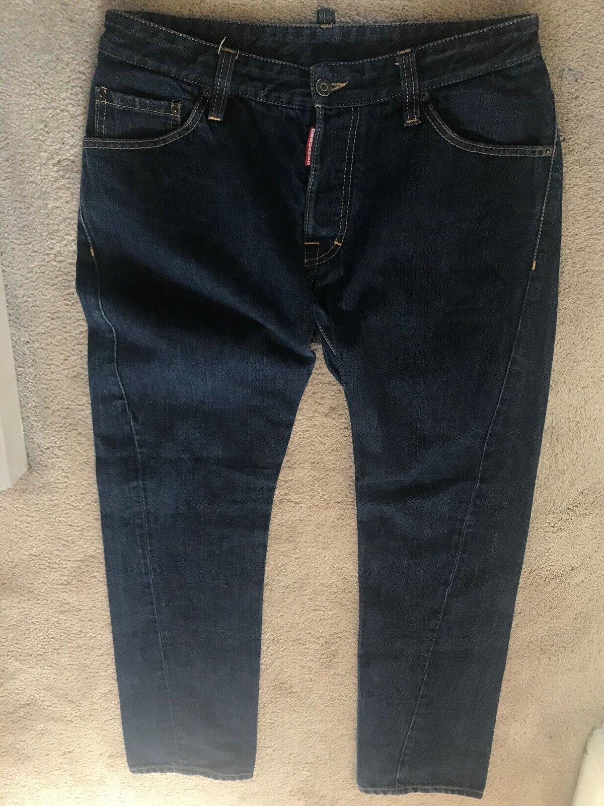 DSQUARED 2 jeans uomo mod 71 LA062 ULTRA RARA Authentic Jeans Denim Nizza