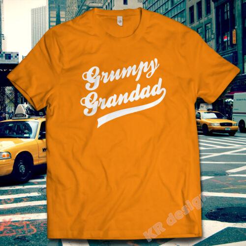 Grumpy Grandad Tshirt Old Man Men/'s Club Dad Tee Funny Christmas Gift Xmas shirt