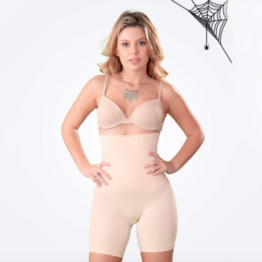 Shapermint Empetua All Day Every Day High-Waisted Shorts Pants Women Body Shaper 9