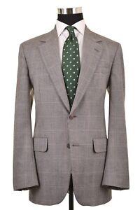Brooks-Brothers-Made-in-USA-Gray-Glen-Plaid-Wool-Sport-Coat-Jacket-Blazer-40