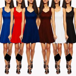 Women-039-s-Plus-size-Fashion-Dress-Slim-Tunic-Casual-Elegant-Sheath-Bodycon-S-5XL