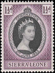 "Scott # 194 - 1953 - ""couronnement Question"", Queen Elizabeth Ii-afficher Le Titre D'origine"