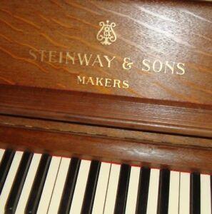 Avoir Un Esprit De Recherche De Haute Qualité Steinway & Sons Du Piano Concert Piano Ailes Piano Pianino Vertegran-afficher Le Titre D'origine