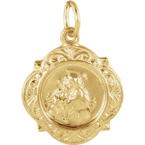 Anthony Medal In 14K Yellow Gold St