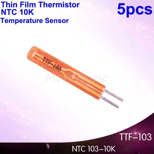 NTC 50K ohm 5/% B3950 Thermistor temperature sensor Cylinder Probe L50mm Wired
