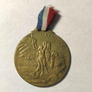 Médaille Liberatum 1919 de Laurens (métal doré)