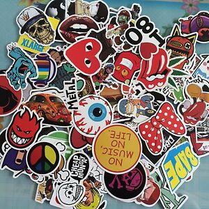 Cool Stickers Skateboard Vintage Vinyl Sticker Laptop Luggage - Vinyl stickers for laptops