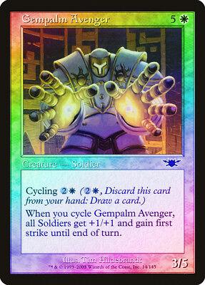 Gempalm Avenger FOIL Legions NM White Common MAGIC THE GATHERING CARD ABUGames