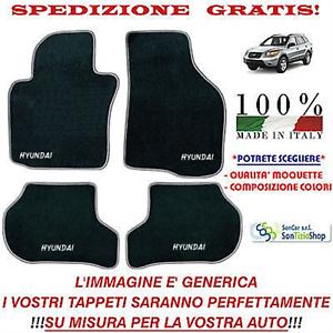 Tappeti Hyundai Santa Fé 2,Tappetini Auto Personalizzati,Scegli Colori e Qualità