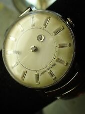 Louvic Men's Mystery Dial Watch Needs Crystal Works Intermittently#70