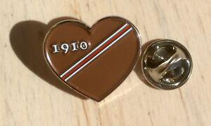 St. Pauli 1910 Herz Pin Anstecknadel Sankt Pauli Anstecker Badge Button Hamburg