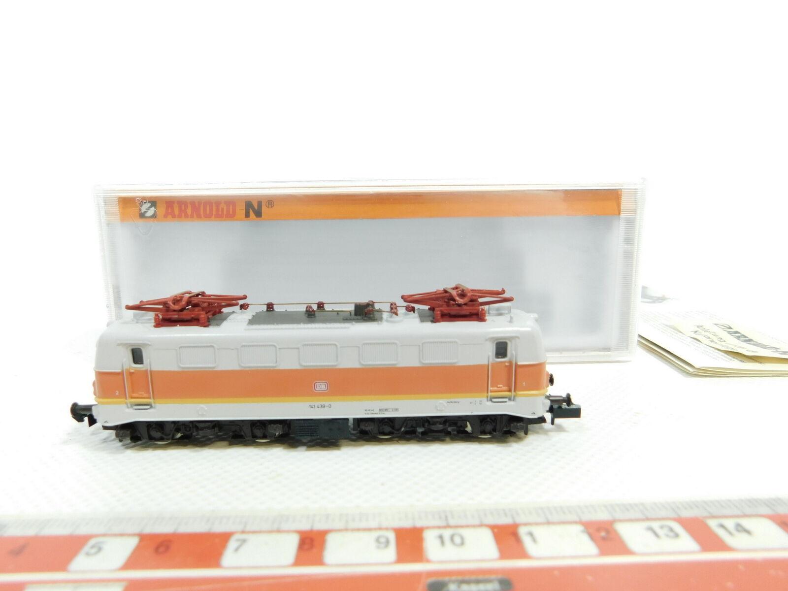 Bg926-0, 5  Arnold Spur N/DC 2324 E-Locomotiva 141 439-0 DB, Neuw + OVP