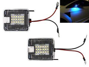 LED-Umfeldbeleuchtung-Spiegel-Umgebungslich-Ford-Kuga-Focus-3-Mondeo-4-610-BLAU