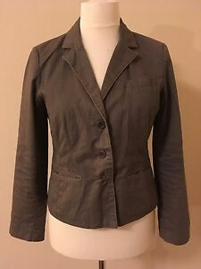 Quality-Dickins-amp-Jones-Size-14-Ladies-Jacket-Excellent-beige-striped