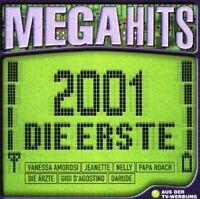 Mega Hits 2001-Die Erste Gigi d'Agostino, Vanessa Amorosi, Die Ärzte, M.. [2 CD]