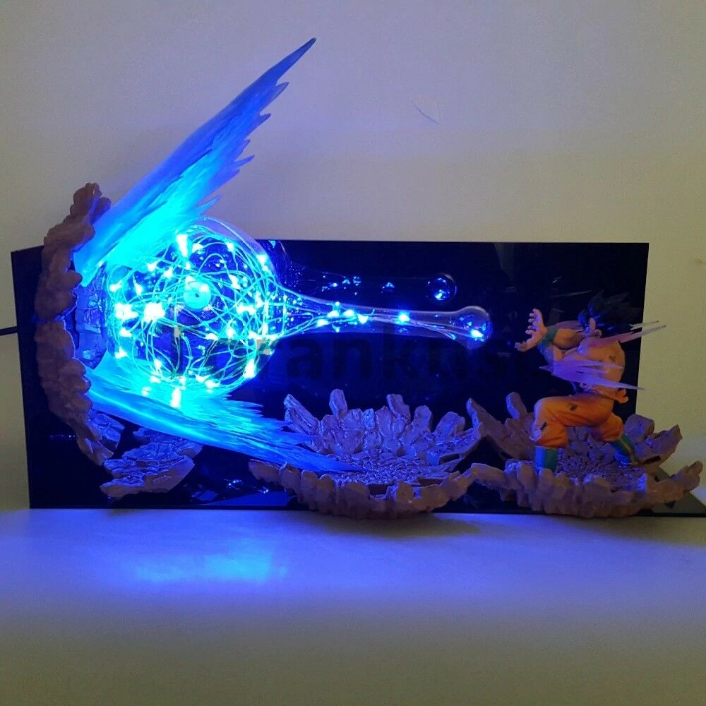 Son Goku  kamehameha Dragon Ball Z Acción Figura Led Night Light DBZ jouet