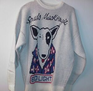 VINTAGE-SPUDS-MACKENZIE-CLIFF-ENGLE-LARGE-UGLY-CHRISTMAS-SWEATER-9