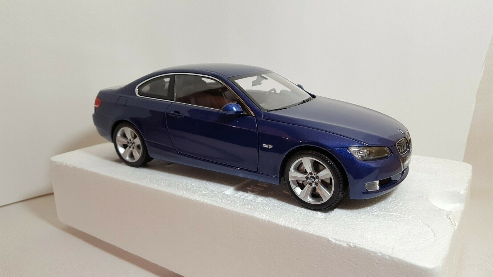 1 18 Kyosho 08736BL BMW 3 Series M3 E92 Coupe bluee - 2007