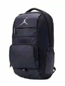9e91fb3f8819 Nike Air Jordan Jumpman All World Laptop Backpack Black Gray 9A1640 ...