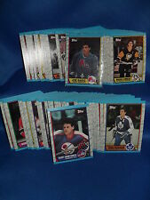 1989-90 TOPPS HOCKEY - COMPLETE SET (198) NHL CARDS ! SAKIC (RC) ! GRETZKY !