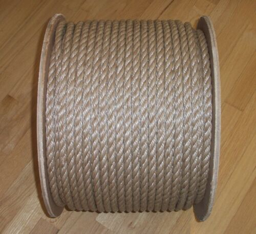 "1"" UMANILA ROPE, DOCK LINE, SWING ROPE, ROPE FENCE,VISIT OUR STORE"