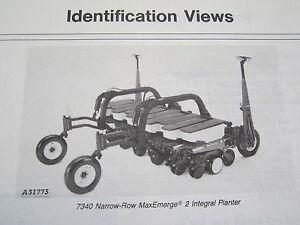 Details About 1987 John Deere 7340 Maxemerge 2 Integral Planter Operator S Manual