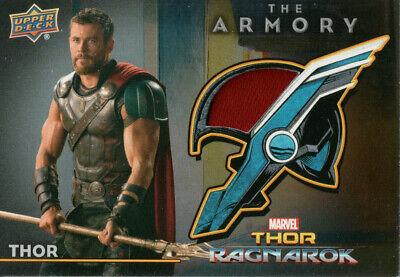 Thor Ragnarok Marvel The Armory Single Memorabilia Card Selection AS1 AS20