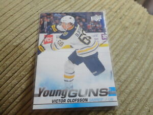 19-20-UD-SER-1-YOUNG-GUNS-ROOKIE-207-VICTOR-OLOFSSON-SABRES