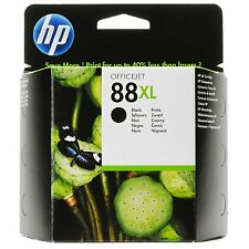 HP 88XL / 88 XL - Black Officejet Ink Cartridge C9396AE New Sealed  No Box