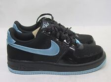 the best attitude 5e0ff fcacf Girls Grade School Nike Air Force 1 Low 314219 002 Black Still Blue Whit