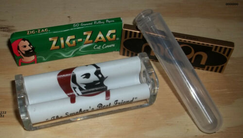 USA Free Papers//Doob Tube//Shipping ZIG-ZAG 70mm S8P5  Roller