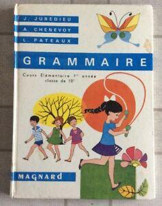 Details Sur Livre Scolaire Ancien Grammaire Cours Elementaire Ecole Maitre