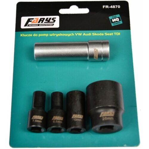3 Kant Einspritzpumpen Bosch Schlüssel Spezialnuss Nüsse Zentralschraube Farys